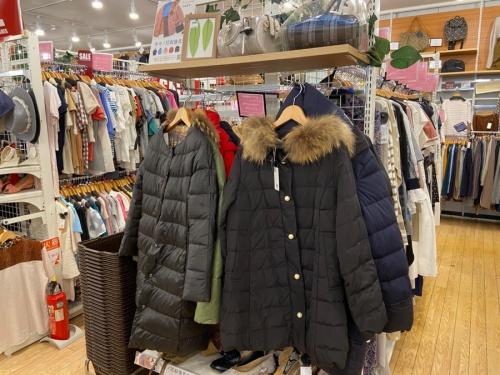 冬物 買取のダウンジャケット