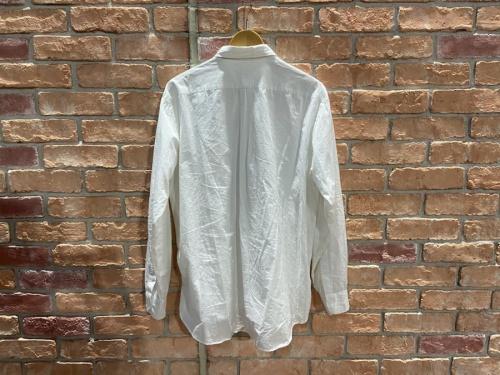 COMOLI コモリのダブルフロントシャツ