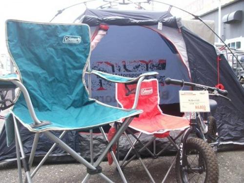 テントのBMW