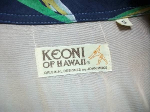 KEONI OF HAWAIIのアロハ