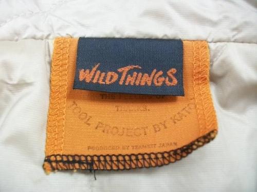 ジャケットのWild things