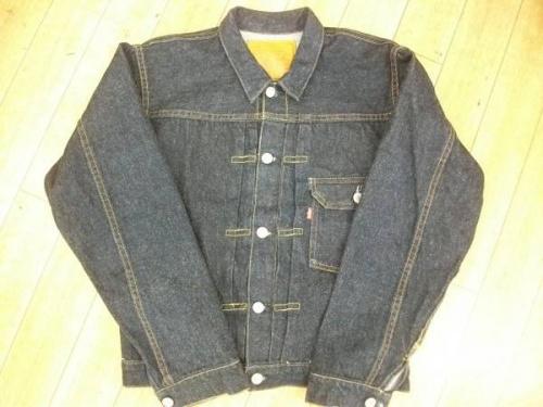 デニムジャケットのリーバイス(LVC)