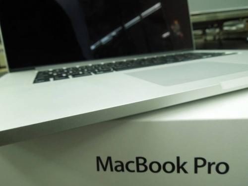 デジタル家電のMacBook Pro