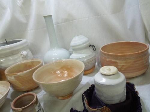 伝統工芸品の萩焼