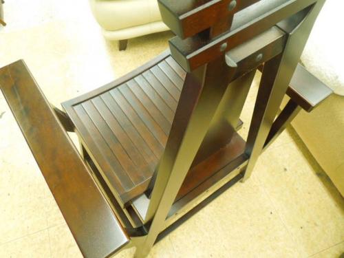 星野民藝の八仙椅子