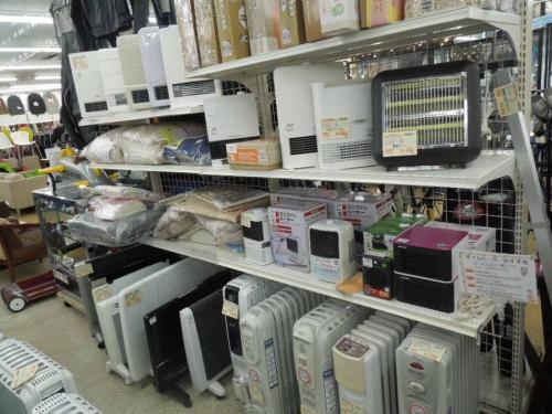 暖房器具の上福岡