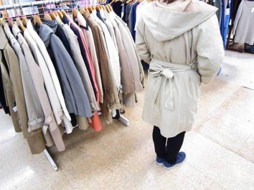 コートの春物アイテム