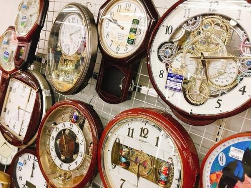 雑貨の掛時計