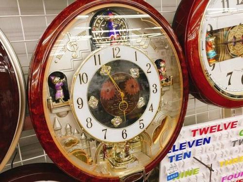 からくり時計のSEIKO(セイコー)