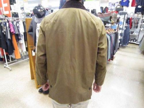 コートのオイルドジャケット