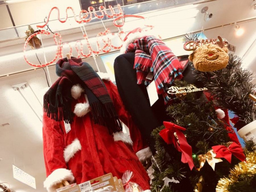 クリスマス用品の季節雑貨