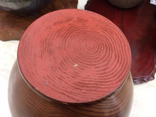 花器の屋久杉