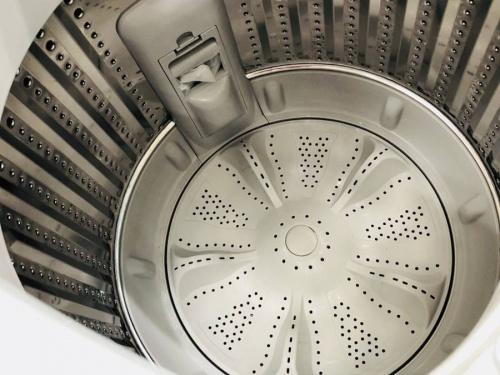 洗濯機の液晶テレビ