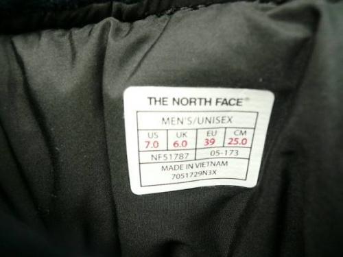 ヌプシーブーティーウールのTHE NORTH FACE