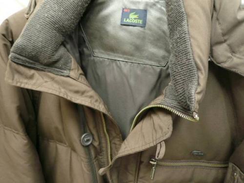 LACOSUTEのダウンジャケット