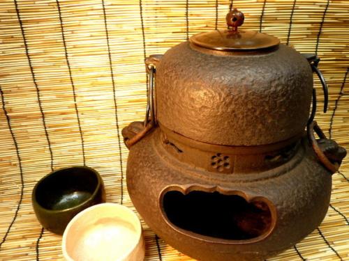 茶釜の風炉釜