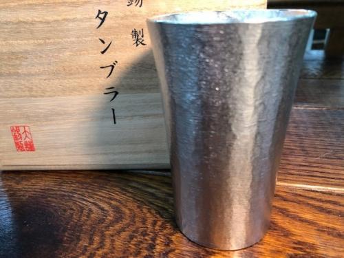 和食器の大阪錫器