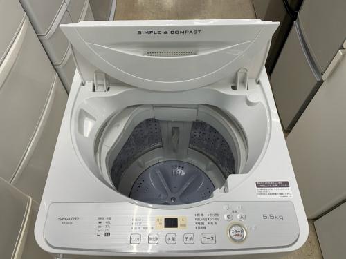 SHARPの冷蔵庫 洗濯機
