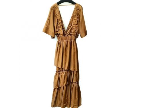 ワンピースのQUWAGI DRESS:ワンピース