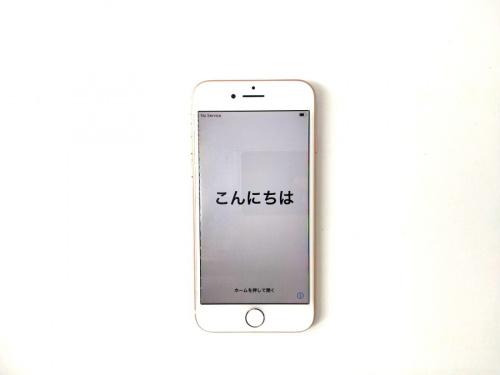 スマートフォンのiPhone8