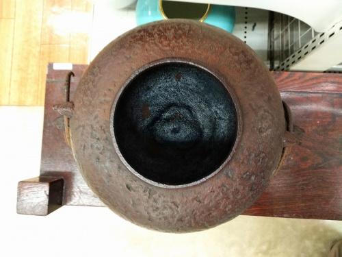 鬼面風炉付の茶道