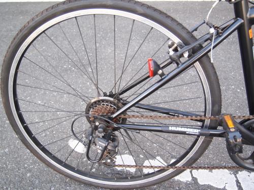 折りたたみ自転車のHUMMER