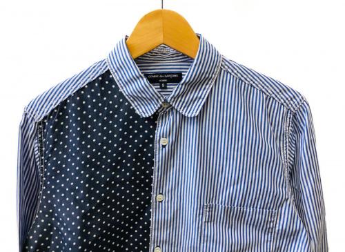 パターン切替シャツのCOMME des GARCONS HOMME
