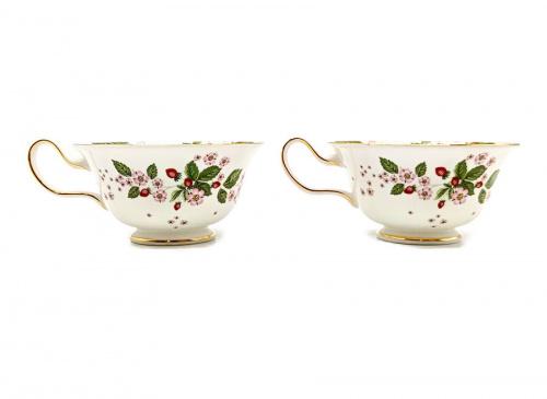 洋食器のカップ&ソーサー ピオニー