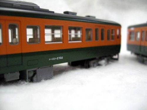 HOゲージの電車