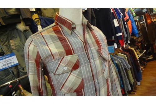 リアルマッコイズ(THE REAL McCOY'S)のネルシャツ