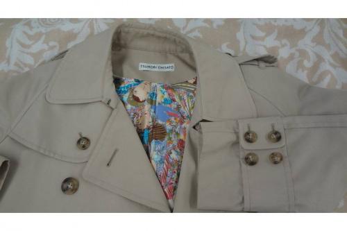 ジャケットのトレンチコート