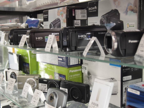 HDR-PJ800の入間店