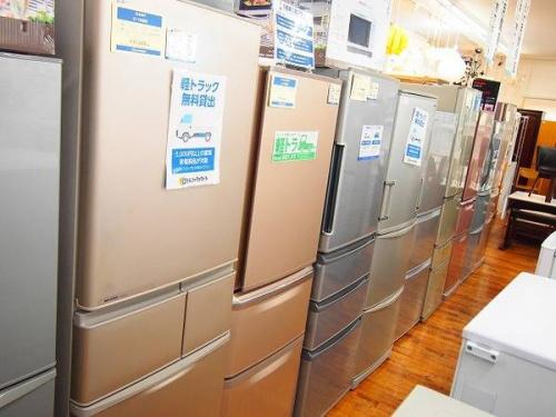 冷蔵庫・洗濯機の小家電