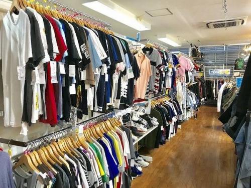 夏物買取の入間店衣類