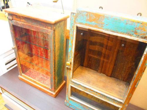 家具のコレクションボックス