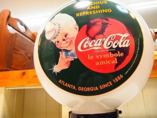 インテリア照明のコカコーラ