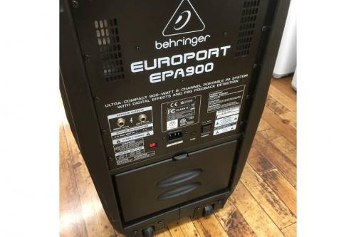 EPA900の音響機器