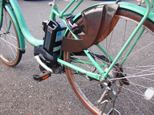 電動アシスト自転車のYAMAHA