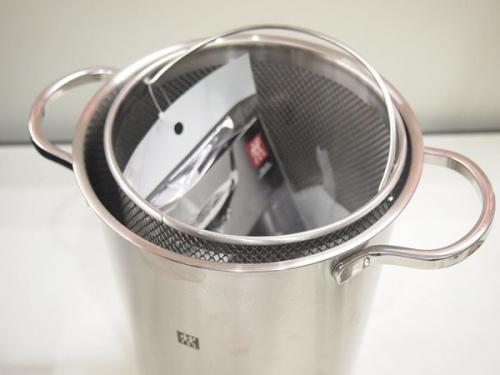 鍋のパスタ&ベジタブルクッカー