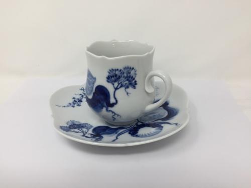 洋食器のマイセン ブルーオーキッド カップ&ソーサー
