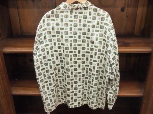 70s 総柄パジャマシャツのEichsfeld