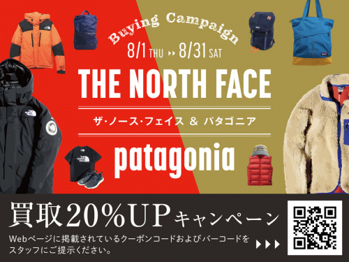 THE NORTH FACEのPatagonia