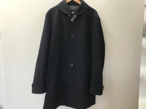 BURBERRY BLACK LABELのカシミヤ混ウールコート