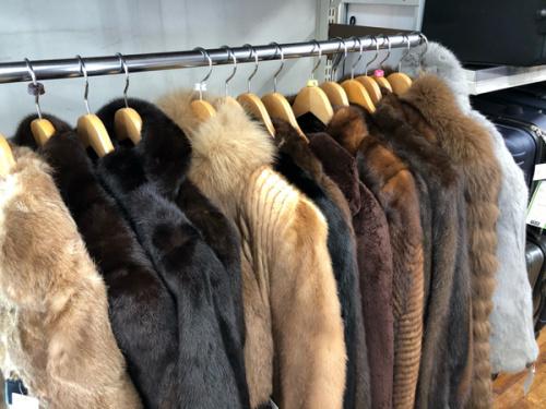 レディースファッションの毛皮