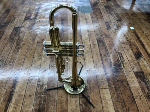 楽器のトランペット