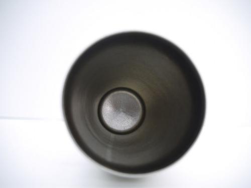 和食器の真空二重チタンカップ