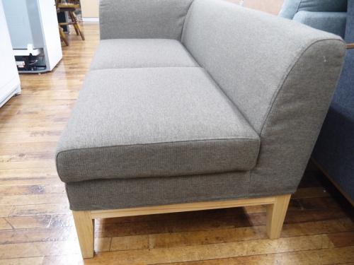 ソファーの2人掛けソファー肩肘