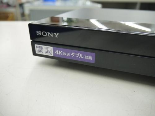 Blu-rayレコーダーのSONY