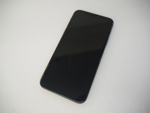 スマートフォンのiPhoneX