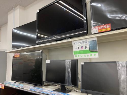 テレビの買取 強化